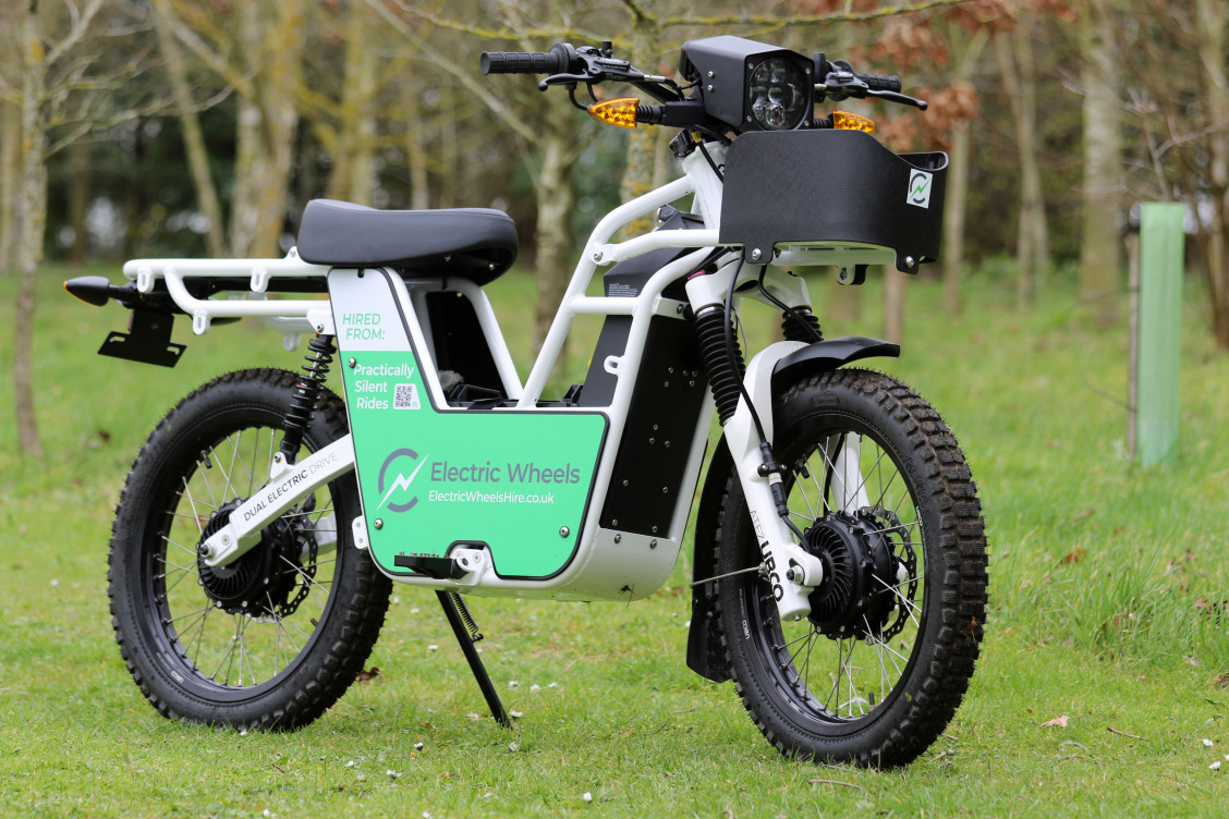 One of Electric Wheels work bikes